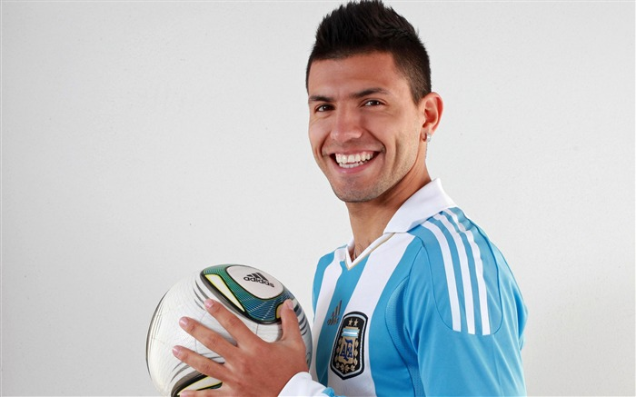 Sergio Aguero-2016 Football Star HD Wallpaper Views:1130