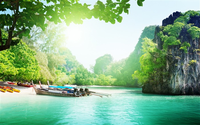 Thailand Travel Vacation Nature Scenery HD Wallpaper Views:6023