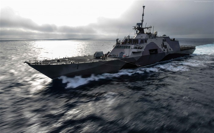 USS Freedom class littoral combat-Military Vessels HD Wallpaper Views:2736