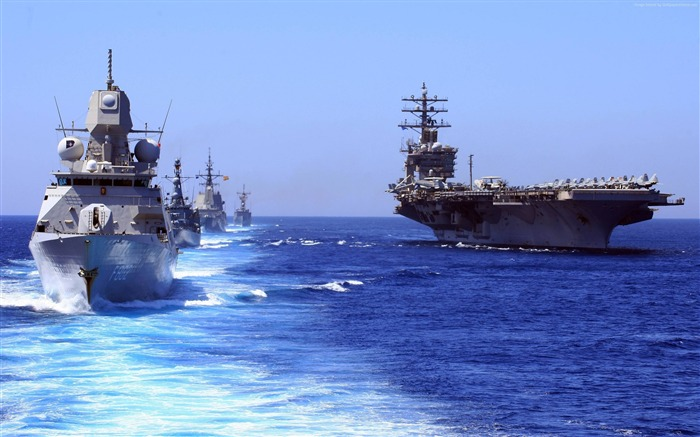 USS eisenhower cvn oliver hazard-Military Vessels HD Wallpaper Views:2650