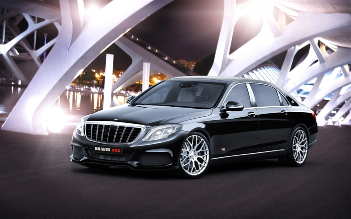 2015 Brabus Mercedes-Maybach 900 Car HD Wallpaper Views:2809