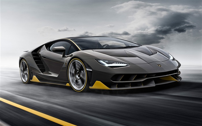2016 Lamborghini Centenario LP 770-4 Car HD Wallpaper Views:3735