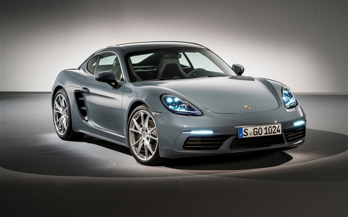 2017 Porsche 718 Cayman HD Desktop Wallpaper Views:3938
