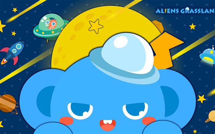 Alien Prairie Star Alsens Grassland Anime Wallpaper 04 Views:1190