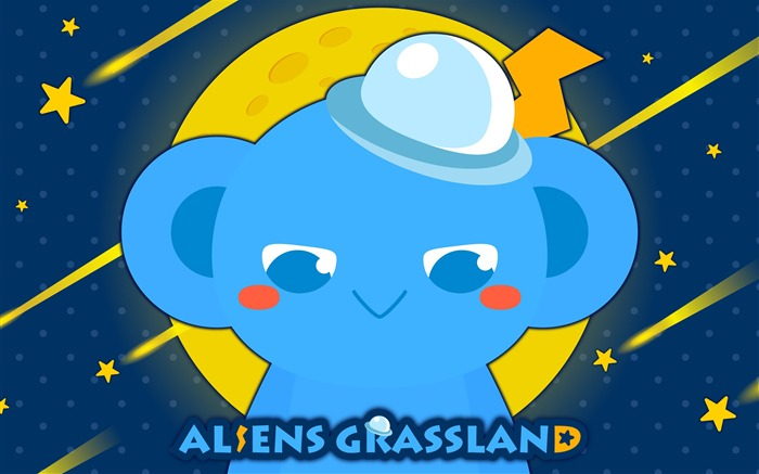 Alien Prairie Star Alsens Grassland Anime Wallpaper 06 Views:1353