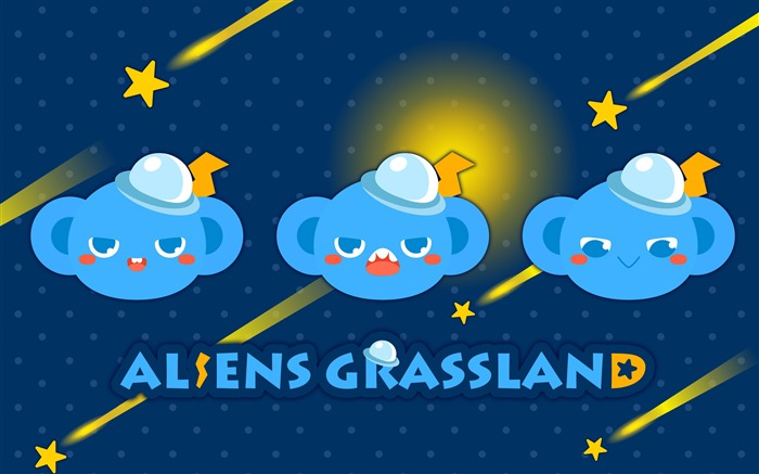Alien Prairie Star Alsens Grassland Anime Wallpaper 07 Views:1348