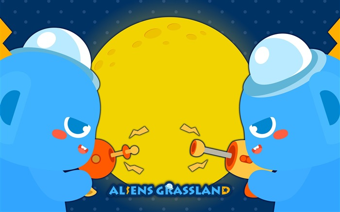 Alien Prairie Star Alsens Grassland Anime Wallpaper 09 Views:1455