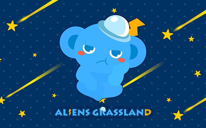 Alien Prairie Star Alsens Grassland Anime Wallpaper 10 Views:1392