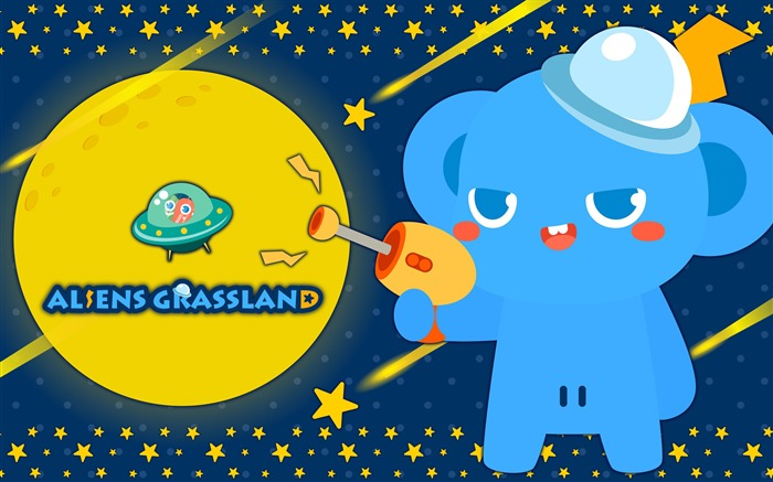 Alien Prairie Star Alsens Grassland Anime Wallpaper 12 Views:1393