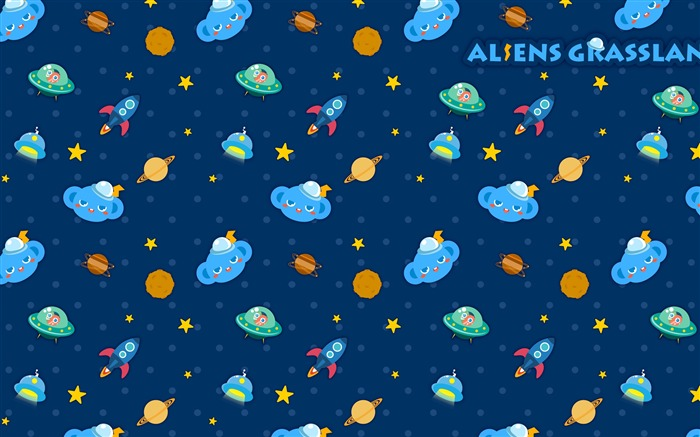 Alien Prairie Star Alsens Grassland Anime Wallpaper 13 Views:1467