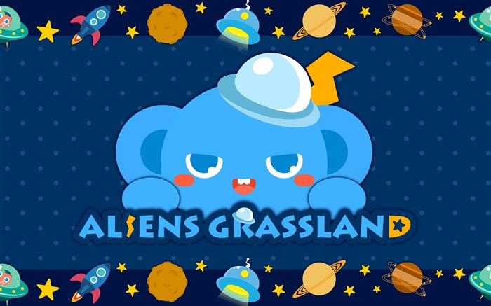 Alien Prairie Star Alsens Grassland Anime Wallpaper 14 Views:1137