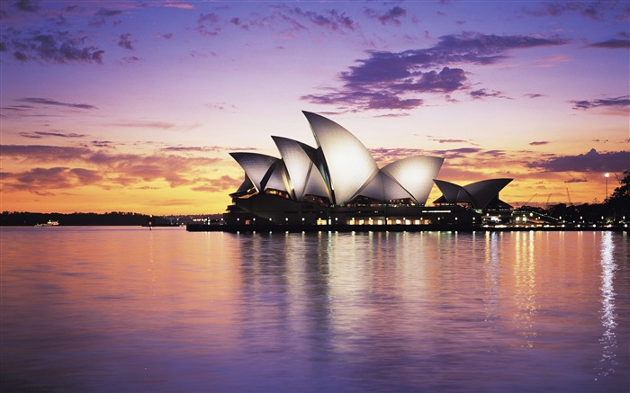 Australia Sydney Opera House-Cities Photo HD Wallpaper Views:4606