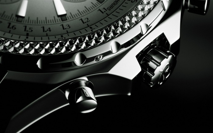 Clock dial black background-Still Life Macro HD Wallpaper Views:1486