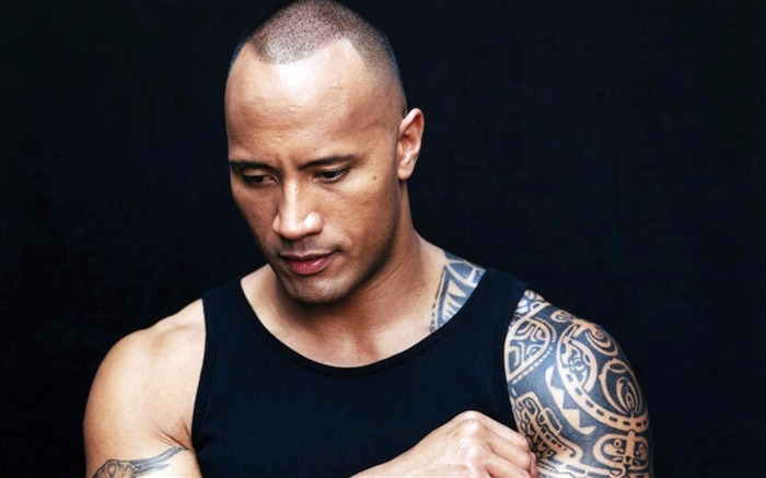 Dwayne Johnson-men actor photo HD wallpaper Views:1600