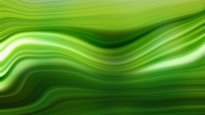 Green Flow Abstract-Glare Line Vector HD Wallpaper Views:1013