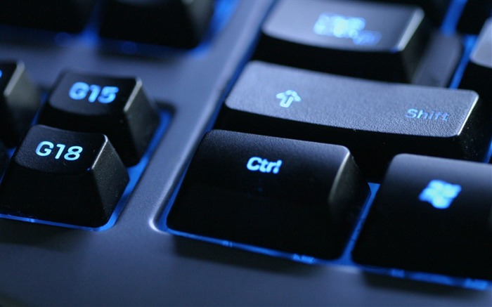 Keyboard blue black button-Still Life Macro HD Wallpaper Views:1560