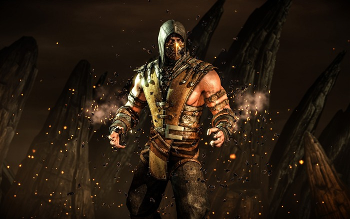 Mortal Kombat X 2016 Game Theme Desktop Wallpaper Views:5628