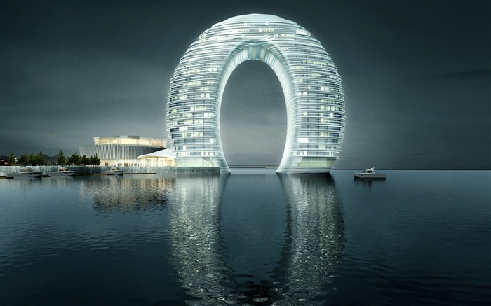 Sheraton Huzhou Hot Spring Resort-Cities Photo HD Wallpaper Views:929