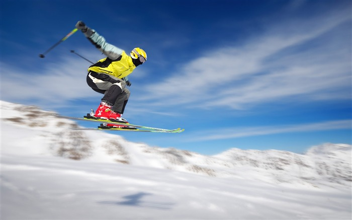 Snow Mountain Snowboarding Extreme HD Wallpaper 02 Views:1303