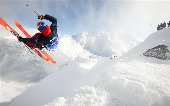 Snow Mountain Snowboarding Extreme HD Wallpaper 03 Views:1625