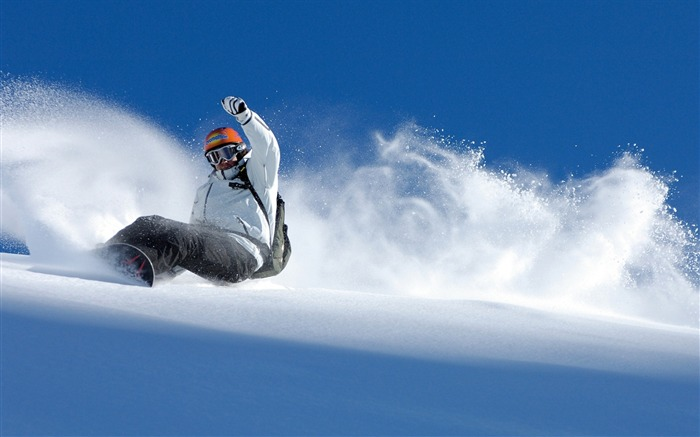 Snow Mountain Snowboarding Extreme HD Wallpaper 14 Views:990