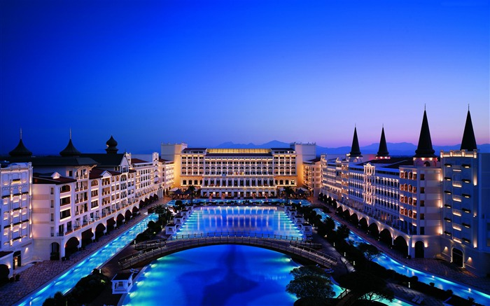 Turkey Best Hotels Mardan Palace-Cities Photo HD Wallpaper Views:2396