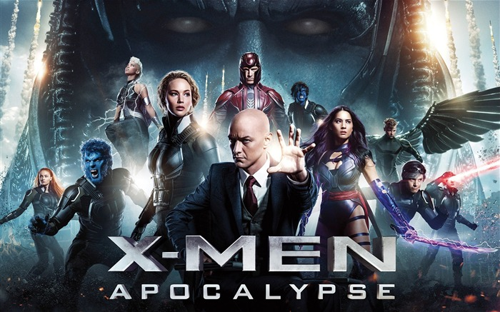 X-Men Apocalypse 2016 Movies Posters HD Wallpaper 03 Views:1519