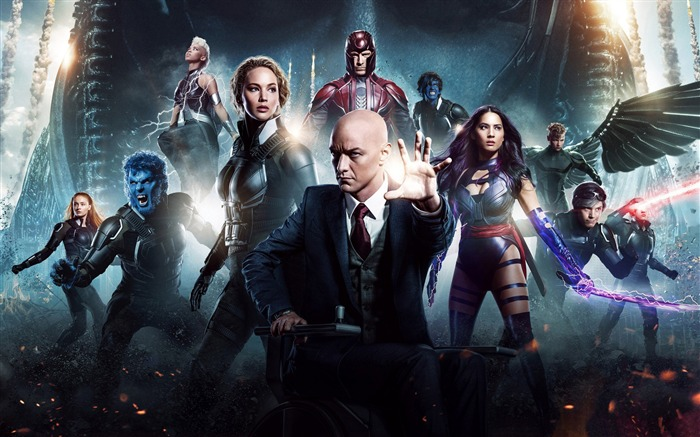 X-Men Apocalypse 2016 Movies Posters HD Wallpaper 08 Views:2489