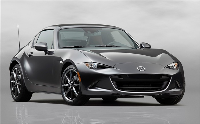 2017 Mazda MX-5 RF Auto Poster HD Wallpaper Views:4533