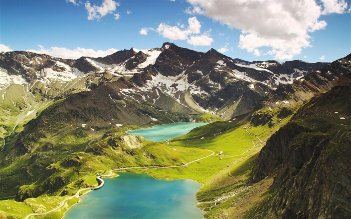 Agnel lake ceresole reale-High Quality HD Wallpaper Views:1901