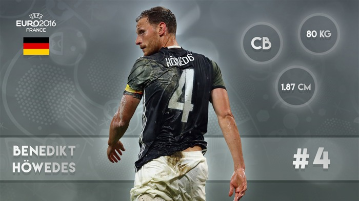Benedikt Howedes-UEFA Euro 2016 Player Wallpaper Views:1540