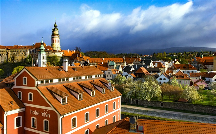 Cesky Krumlov travel landscape HD Wallpaper Views:5306