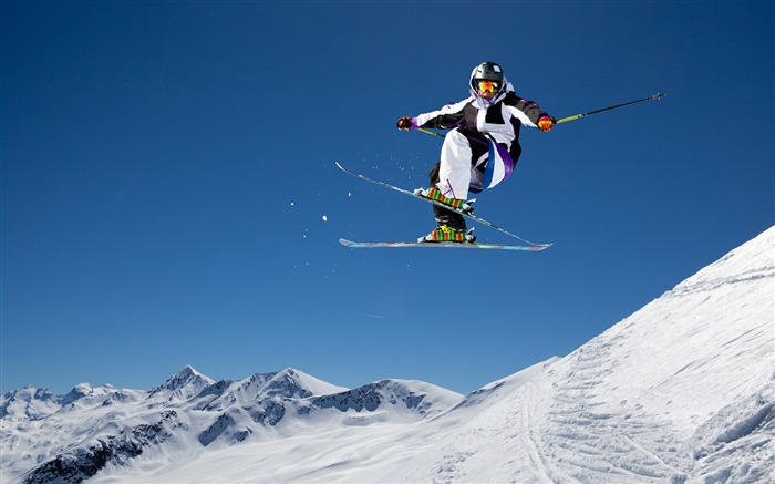 Double plate skiing action-2016 Sport HD Wallpaper Views:1524