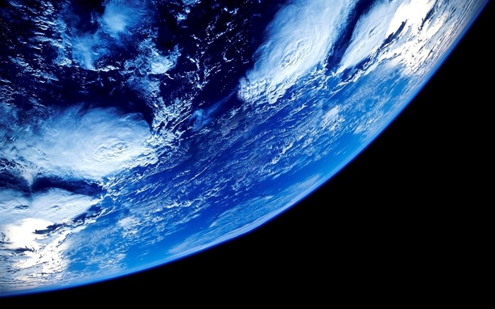Earth from space close up-Universe Digital HD Wallpaper Views:1341