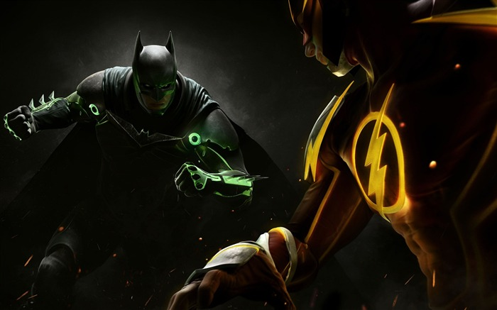 Injustice ps4 2016-Game High Quality HD Wallpaper Views:1707