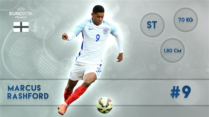 Marcus Rashford-UEFA Euro 2016 Player Wallpaper Views:2043