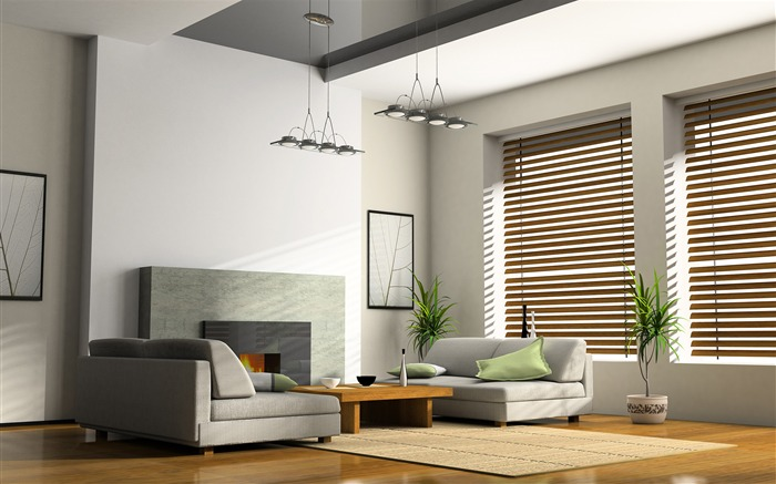 Minimalist interior design theme HD Wallpaper 01 Views:1514