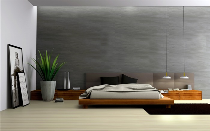 Minimalist interior design theme HD Wallpaper 03 Views:1822