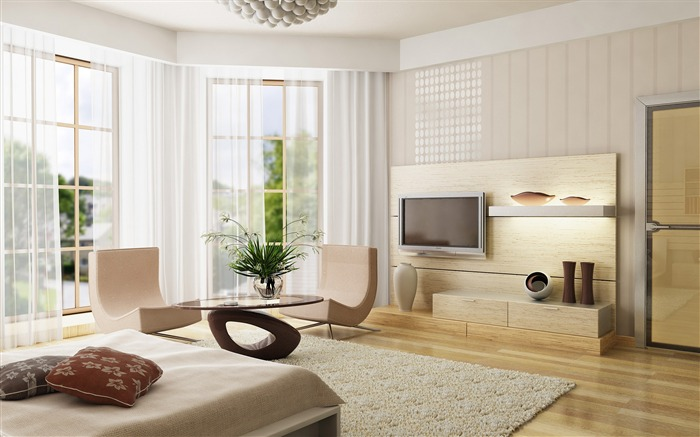 Minimalist interior design theme HD Wallpaper 07 Views:1471