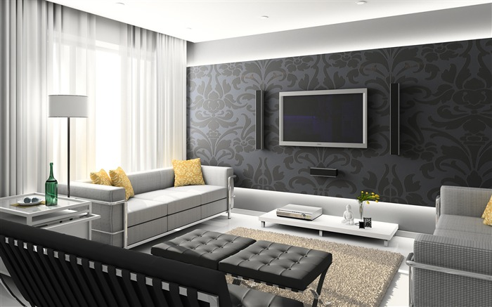 Minimalist interior design theme HD Wallpaper 08 Views:1303