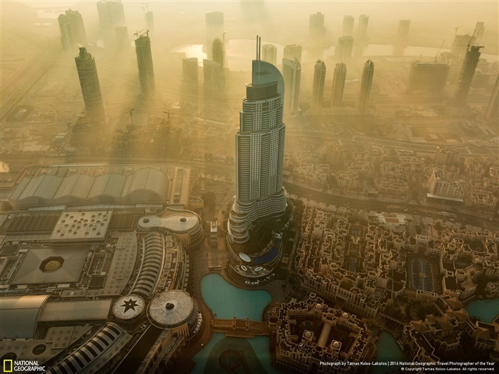 Morning Glory Gold Dubai Arab Emirates-2016 National Geographic Wallpaper Views:1520