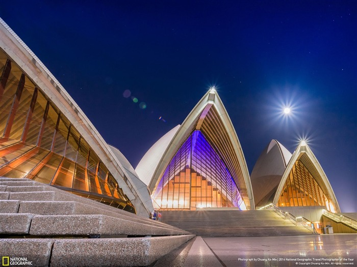New South Wales Sydney Opera House-2016 National Geographic Wallpaper Views:1930