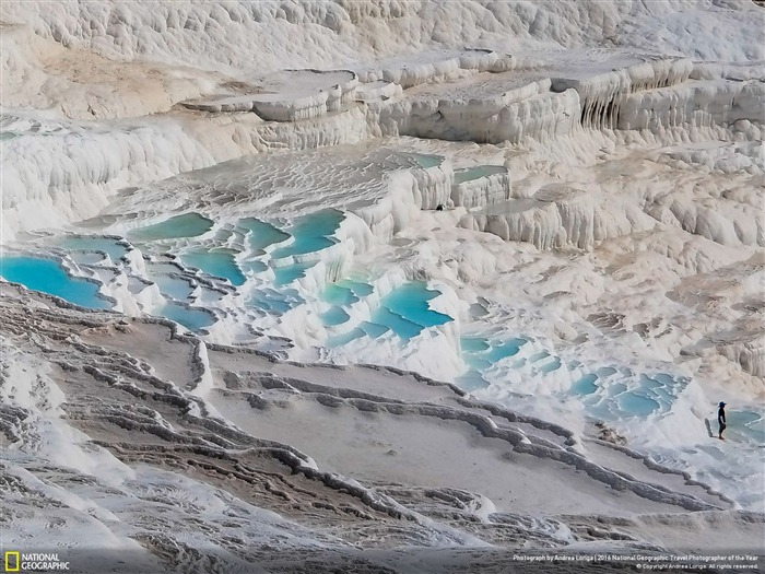 Pamukkale Turkey-2016 National Geographic Wallpaper Views:1646
