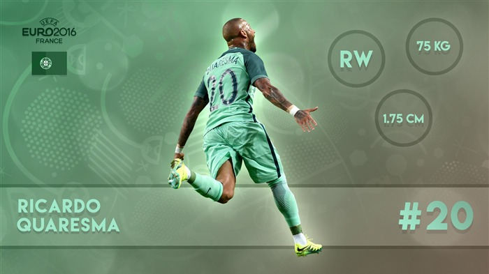 Ricardo Quaresma-UEFA Euro 2016 Player Wallpaper Views:1378