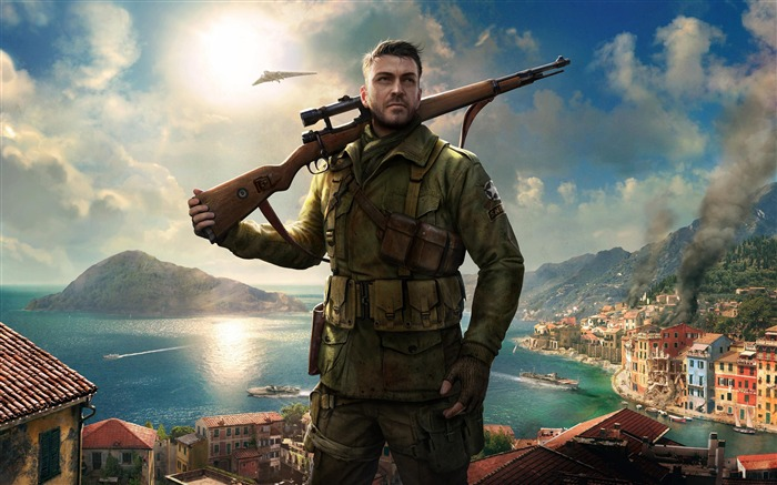 Sniper Elite 4-Game High Quality HD Wallpaper Views:1804