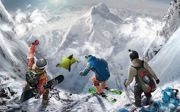 Steep extreme sport-Game High Quality HD Wallpaper Views:1662