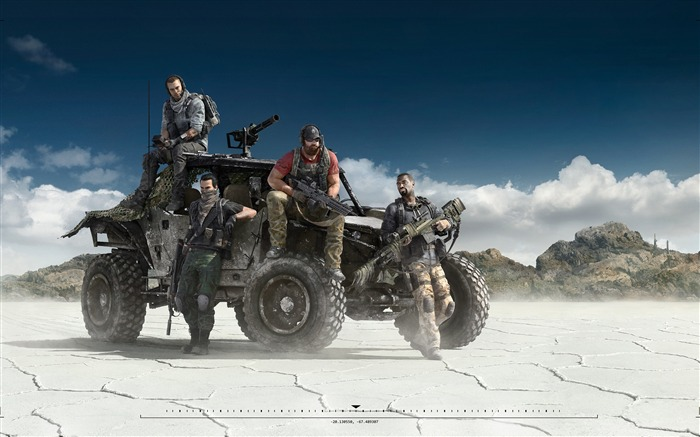 Tom Clancys Ghost Recon-Game High Quality HD Wallpaper Views:860