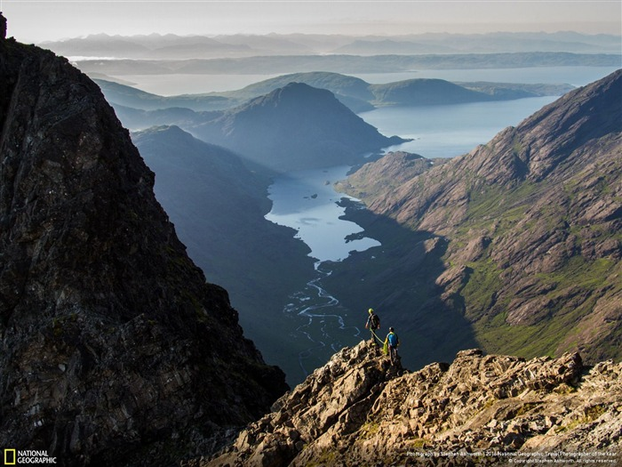 Traverse Cuillin Ridge morning-2016 National Geographic Wallpaper Views:1568