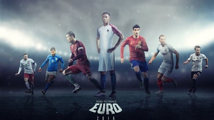 UEFA Euro 2016 Football Player Theme Wallpaper Views:829