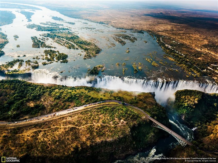 Victoria Falls Matabeleland North-2016 National Geographic Wallpaper Views:3397
